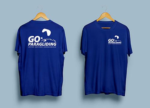 Go Paragliding - T-shirt